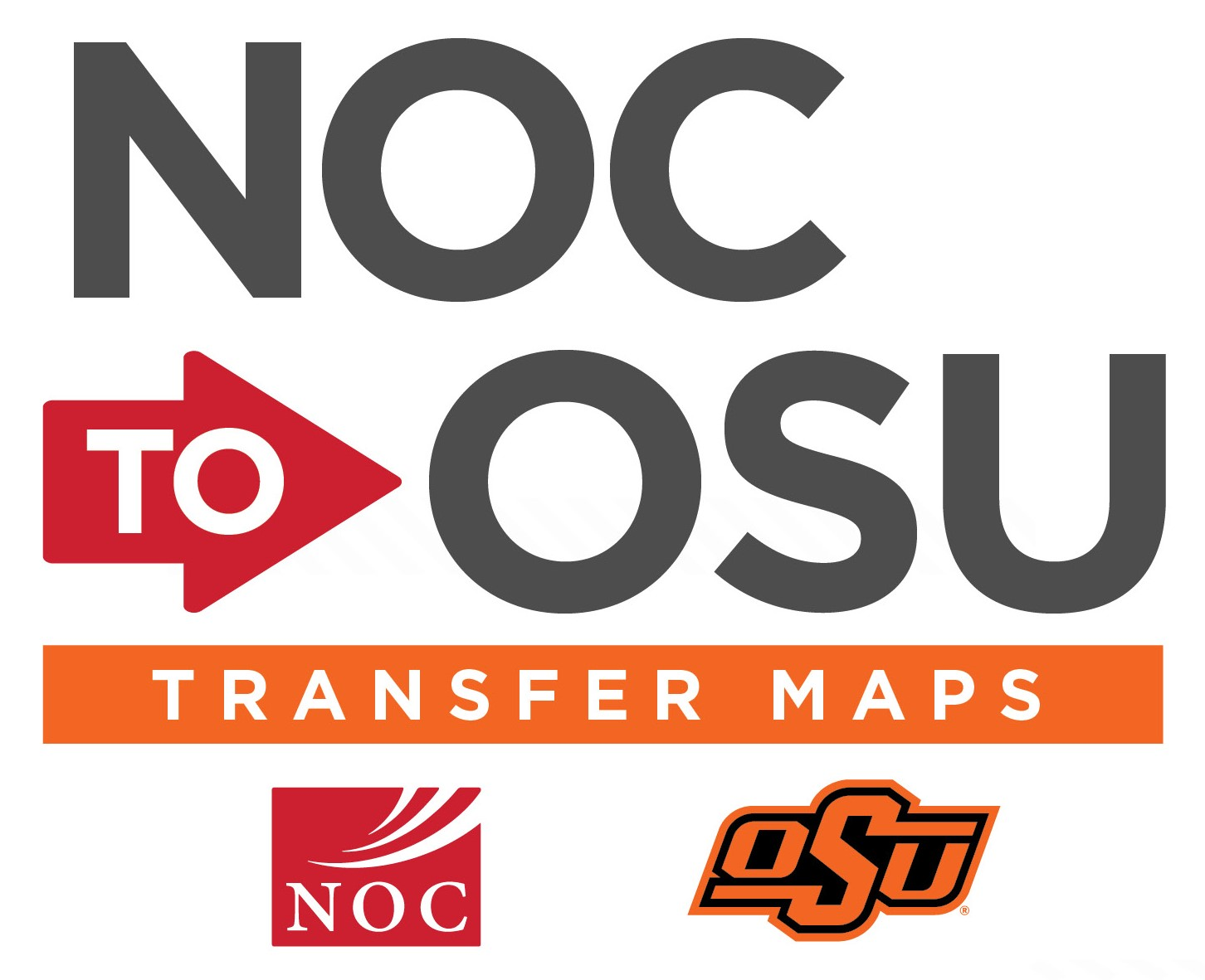 NOC to OSU Transfer Map