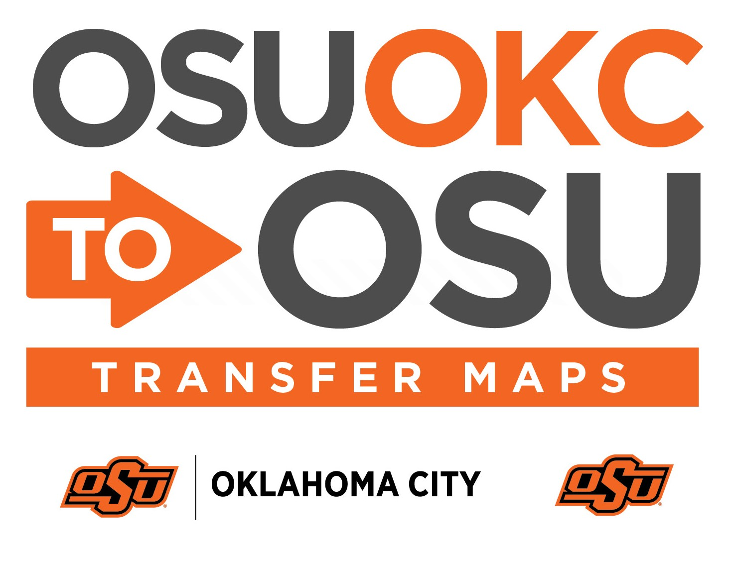 OSU-OKC to OSU Transfer Map