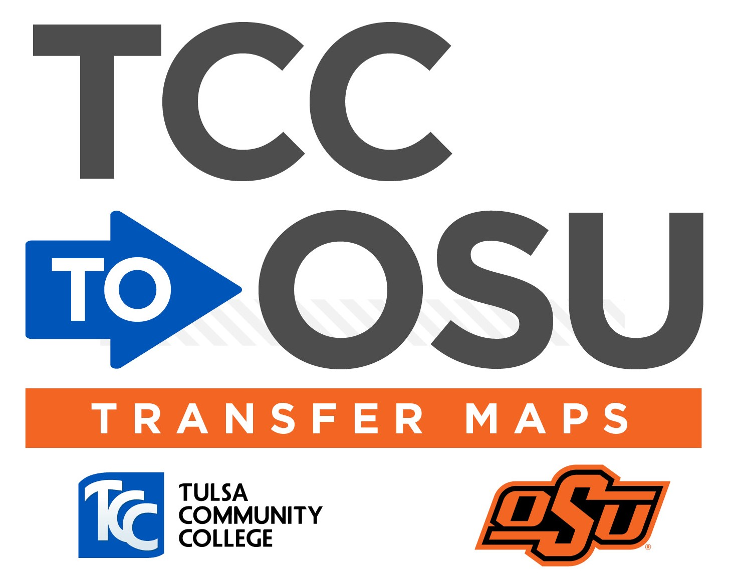 TCC to OSU Transfer Map